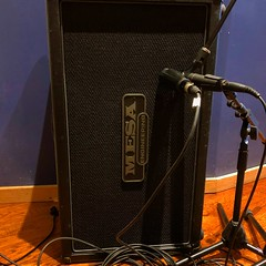 Standing Tall (Pennan_Brae) Tags: guitaramplifier guitaramp mesaboogie musicphotography music recordingsession recordingstudio microphones microphone mic amplifier amp musicstudio recording