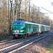 Mat'54 766 van de Stichting Hondekop in het Bentheimer Wald op weg terug naar Nederland, 16 december 2017