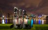 Ballaarat Park (nixpix651) Tags: sydney barangaroo australia newsouthwales pyrmont ballaaratpark skyline reflection