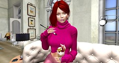 Entice@Store - Ireland's Call  Sweater Top- Designer Showcase November 5th-30th (danaorianaor) Tags: entice secondlife icecream beauty dana blog avatar mina meva