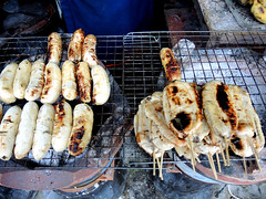 Grilled bananas (MelindaChan ^..^) Tags: 泰國 thailand chanmelmel mel melinda melindachan travel