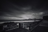 Porthcawl seafront bw (Tim Bow Photography) Tags: timbowphotography timboss81 welsh british porthcawl landscape landscapesofwales blackandwhitelandscapes longexposure mood ominous composition wales