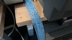 Lochstreifen (stiefkind) Tags: vcfb vcfb2017 vcfb17 vintagecomputing lochstreifen papertape