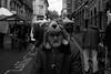 funny hat (Eddie Deponeo) Tags: leicam8 blackandwhite street bw streetphotography streetphoto people man old bristol