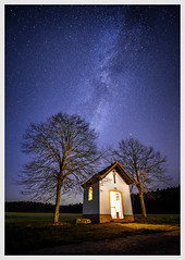 November stars (Juhwie_Fotography) Tags: stars milkyway tree chapel franken franconia house night nightshoot pentax pentaxart ngc ricohimaging k1 germany beautifulgermany