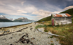 Norway (vilomaki) Tags: norway mountains hills holiday sea beach shore sky norja norge