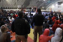 26 Noviembre 2017 Dispositivo de seguridad en la función de lucha libre del #EventoConCausa  (ÁNGELES) (Gobierno de Cholula) Tags: unidaddeportivatlachtli luchas libres evento con causa dif luchadores policíamunicipal guardiaciudadana grupogeri