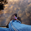 Reflecting (cogy) Tags: water reflection shoes feet rainbow laces camlin shannon river clondra longford ireland depression anxiety lgbt evening dusk