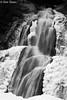 Moss Glen Falls - Stowe, Vermont (Kim Toews Photography) Tags: monochrome bw blackandwhite usa vermont mossglenfalls rocks icy ice water outdoor landscape falls waterfall
