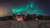Winter Night Auroras (M.T.L Photography) Tags: winternightauroras mtlphotography mikkoleinonencom auroraphotography water snow sky stars auroraborealis northernlights trees winter colors copyright ice nikond810 nightscape