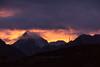 Sunset at Dzongri 4 (Stephen T Slater) Tags: 2017 dzongri india sikkim farmhouse hut mountains sunset verticalprayerflags in