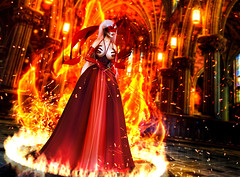 Hell hath no fury... (Venus Germanotta) Tags: secondlife fashion fierce aiitheuglyandbeautiful arcade thearcade pixicat latex church hell demoness demon cathedral good angels fire witch witchcraft magic power summon blog blogger blogging blogpost gown red sickening graphicdesign design photoshop lighting perspective photography avantgarde hautecouture couture highfashion stilettonails monster bloodymary judas gaga mask exclusive event december vibrant color pop reflection ring burn blackmagic sexy chic glamour fabulous demonic fame hooker wench bible satan lucifer god heaven burning aesthetic fantasy fantasea prophet beast devilish devil