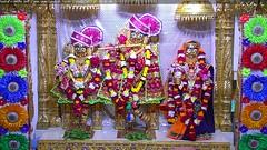 Radha Krishna Dev Shringar Darshan on Mon 11 Dec 2017 (bhujmandir) Tags: radha krishna dev lord maharaj swaminarayan hari bhagvan bhagwan bhuj mandir temple daily darshan swami narayan shringar
