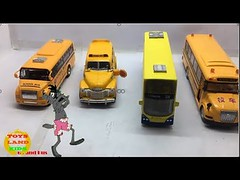 Bus toys collection for children #6 | Longest bus toys | Wheels on the bus song (toysland) Tags: bus toys collection for children 6 | longest wheels song