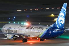 N248AK Alaska 737-900ER IAH 2017-11-05 (GFB Aviation Photography) Tags: n248ak alaska 737 737900er boeingcentennial iah kiah