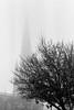 Misty Lady (markkeohane) Tags: church stmaryredcliffe bristol nikonf3 film nikon 50 mist nikon50mmf14