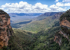 Blue Mountains (Eddy Summers) Tags: bluemountains nsw cliff landscape da15mmf4 pentaxkp vibrant