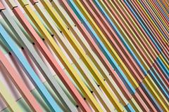 Colors & Lines (2) (Karsten Gieselmann) Tags: 1240mmf28 architektur bavaria em5markii fassade formen germany linien mzuiko microfourthirds museumbrandhorst olympus stadt architecture city front kgiesel lines m43 mft shapes münchen bayern deutschland