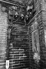 Corner (superzookeeper) Tags: canoneos5dmarkiv ef2470mmf28liiusm 5dmk4 5dmkiv hk hongkong yuenlong eos digital street abandoned ruins oldtown yuenlongkauhui oldbuilding bnw blackandwhite monochrome