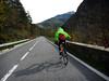 Surcando la felicidad (Markus' Sperling) Tags: bike ciclismo ciclista cyclist ciclism bicicleta puerto montaña collada toses girona catalunya road carretera felicidad