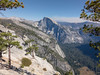 View towards the back of Yosemite Valley (lvalgaerts) Tags: yosemite sunset rock climbing valley usa america landscape alpine high sierras sierra nevada half dome wildfire smoke smog clouds national park california pine trees starr king autumn hiking hike rest