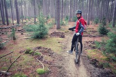 Larose Forest (Richard Pilon) Tags: autumn forest nature fall naturetrail ontario canon powershot mountainbiking mtb