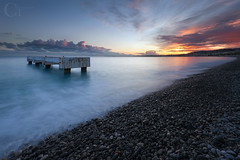 Blue Beach (CT photographie) Tags: cotedazur nice nissa negresco bluebeach mediteranean manfrotto mer sunset sea france filtres frenchriviera landscape longexposure lee villedenice galet beach paca perspective photographer