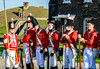 At Ease! Tilbury Fort, Essex, England. (Aethelweard) Tags: tilbury england unitedkingdom gb essex red green history old canon efs18135mmf3556isstm historic regiment military soldier rifle laugh laughing happy candid british redcoat