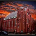 Washington DC - Calvary Baptist Church - Sunset -  Historic Building thumbnail