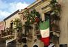 Balcony (albireo 2006) Tags: sicily sicilia italy italia taormina balcony flag italianflag