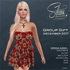 Group gift December 2017 (Selene Morgan) Tags: maitreya lara belleza isis freya venus slink original physique hourglass altamura tonic curve fine bento dress selenecreations