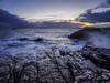 Sea of tears (lloydich) Tags: scotland isleofskye elgol sea shoreline sunset
