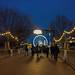 Walking into Winter Wonderland at Hyde Park