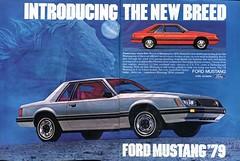 1979 Ford Mustang Advertisement Hot Rod December 1978 (SenseiAlan) Tags: 1979 ford mustang advertisement hot rod december 1978
