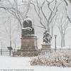 Central Park Snow (20171209-DSC04550) (Michael.Lee.Pics.NYC) Tags: newyork centralpark themall literarywalk winter snow 2017 robertburns sirwalterscott elm trees branches sculpture statue poet sony a7rm2 fe24105mmf4g