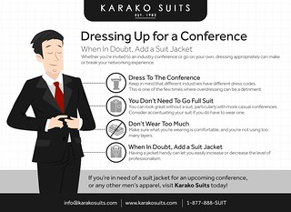 Dressing Up for a Conference: When In Doubt, Add a Suit Jacket