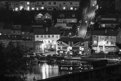 Saltash K3__7481.jpg (screwdriver222) Tags: rivertamar night saltash pentax pub da55300edf458 unioninn bw unionflag cornwall river blackwhite