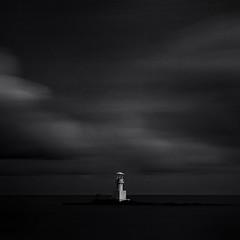 light house (pattana92392) Tags: lighthouse blackwhite longexposure seawave sea coast water fineart stone minimal