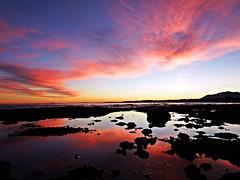 Atardecer en la costa (Antonio Chacon) Tags: andalucia atardecer marbella málaga mar mediterráneo costadelsol cielo españa spain sunset sol water rocks reflections sky clouds sea