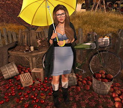 {Blog 320} Forecast: Rain? (veronica gearz) Tags: avi avatar blog blogger blogs blogging bloggers bento belleposes secondlife second sl autumn fall mesh maitreya 2ndlife life lelutka runaway decoy yummy cae izzies serenitystyle revival curemore floorplan jian lavie rain norain