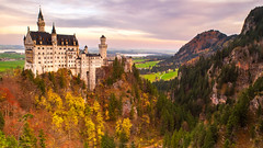 Eternal Mystery History (carolina_sky) Tags: marienbrücke neuschwanstein bavaria tyrol alps mountains valley germany munich fussen fall autumn fantasy castle kingludwigii pentaxk1 pentax2470mm skymatthewsphotography pixelshift