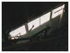 HAL Building, Rotterdam 1991 (jmvanelk) Tags: rotterdam hal kopvanzuid abandoned hotelnewyork urbex nikonfe nikkor24mm shadow stairs dark hollandamerikalijn