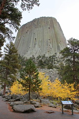 Wyoming, Devils Tower IMG_5508 (ianw1951) Tags: autumn cenozoic columnarjointing devilstower fall geology phonolite usa wyoming