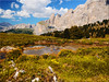 The pond at the Sella Pass in South Tyrol (Ostseetroll) Tags: geo:lat=4651346653 geo:lon=1176530735 geotagged canazei ita italien sellajoch trentinoaltoadige pond südtirol sella teich spiegelungen reflections
