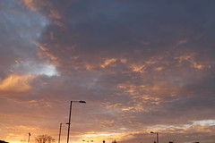 Sunset (daveandlyn1) Tags: clouds lamppost tree colours iii f3556 efs1855mm 1200d eos canon manchester digitalcamera