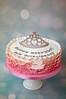 Pink Princess Cake (toertlifee) Tags: törtlifee pink verlauf ombre ombré tiara crown krone geburtstag mädchen girly