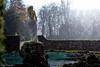 sun and rain (soundmoods) Tags: rain sun hardrain statue woman nimf canon 50mm thenetherland palacesoestdijk baarn