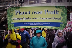 Corporate Greed (michael.veltman) Tags: environmental protest chicago illinois corporate greed