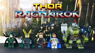 LEGO Marvel : Thor: Ragnarok Minifigures