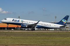 Azul Linhas Aereas / Embraer ERJ-190 / PR-AZA (Adriano.Barreto) Tags: airplane plane spotting planespotting sbkp vcp viracopos campinas brazil brasil brazilian azul embraer embraer190